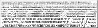 HVLJFont - Soft Fonts for Laser Printers 1.0 screenshot. Click to enlarge!