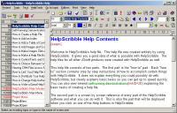 HelpScribble 8.1.0 screenshot. Click to enlarge!