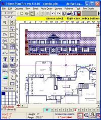 Home Plan Pro 5.4.1.1 screenshot. Click to enlarge!