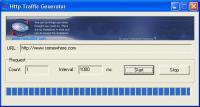 HttpTrafficGen 1.7.4 screenshot. Click to enlarge!