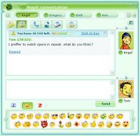 ICQ 10.0.12156 screenshot. Click to enlarge!