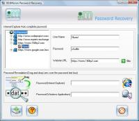 IE7 Password Recovery 4.8.3.1 screenshot. Click to enlarge!