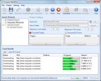 Inspyder Web2Disk 5.0.1.8635 screenshot. Click to enlarge!