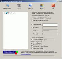Instant Remote Control 2.2.9 screenshot. Click to enlarge!