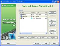 Internet Secure Tunneling 2.0.0.244 screenshot. Click to enlarge!
