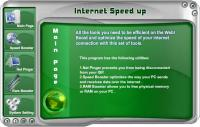 Internet Speed up 4.2.0.7 screenshot. Click to enlarge!
