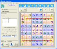 Isanaki Sudoku 2.6b screenshot. Click to enlarge!