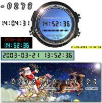 JADC (Advanced Digital Clock) 1.0.007 screenshot. Click to enlarge!