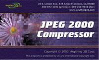JPEG 2000 Compressor 1.0 screenshot. Click to enlarge!