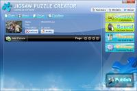 Jigsaw Puzzle Creator 3.4.20 screenshot. Click to enlarge!