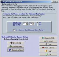 Keyboard Collector 2.09b screenshot. Click to enlarge!