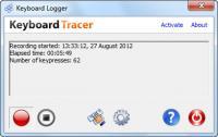 Keyboard Tracer (formerly Keyboard Logger) 2.9.0.0 screenshot. Click to enlarge!