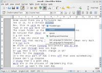 LanguageTool 3.8 screenshot. Click to enlarge!