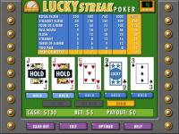 Lucky Streak Poker 3.0 screenshot. Click to enlarge!