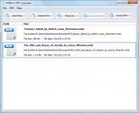 MOBI to PDF Converter 1.0 screenshot. Click to enlarge!