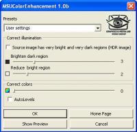 MSU Color Enhancement VirtualDub plugin 1.0.1b screenshot. Click to enlarge!