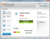 MYPCTuneUp, FREE PC Health check! 2010 screenshot. Click to enlarge!