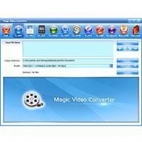 Magic Video Converter 12.1.11.2 screenshot. Click to enlarge!