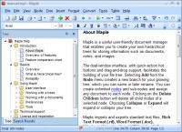 Maple 8.51 screenshot. Click to enlarge!