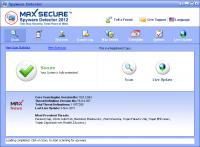 Max Spyware Detector 19.0.2.043 screenshot. Click to enlarge!