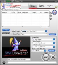 MediaSanta SWF Converter 5.0 screenshot. Click to enlarge!
