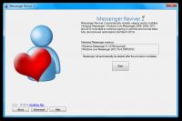 Messenger Reviver 2.4.8.9 screenshot. Click to enlarge!