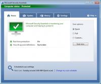 Microsoft Security Essentials Definition Updates 1.247.867.0 screenshot. Click to enlarge!