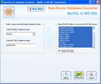 Migrate MySQL Database 2.0.1.5 screenshot. Click to enlarge!