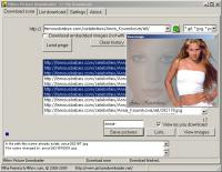Mihov Picture Downloader 1.5 screenshot. Click to enlarge!