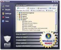 Mil Shield 9.0.2490 screenshot. Click to enlarge!