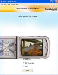 Mobile Media Maker (Motorola) 1.0 screenshot. Click to enlarge!