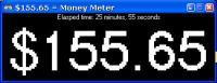 Money Meter 1.00 screenshot. Click to enlarge!