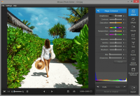 Movavi Photo Editor 4.1.0 screenshot. Click to enlarge!