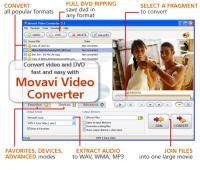 Movavi Video Converter - Personal Platinum 7.1.26.03 screenshot. Click to enlarge!