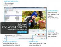 Movavi iPod Video Converter 6.0.1 screenshot. Click to enlarge!
