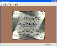 Music Publisher 8 screenshot. Click to enlarge!