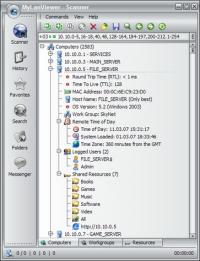 MyLanViewer 4.19.8 screenshot. Click to enlarge!