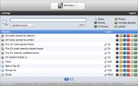 MyTunesRSS 6.8.1 screenshot. Click to enlarge!