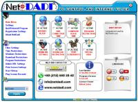 NETDADI PC CONTROL AND INTERNET FILTER V1.0.3.82 screenshot. Click to enlarge!