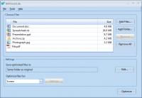 NXPowerLite Desktop Edition 6.0.5 screenshot. Click to enlarge!
