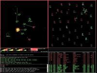 Netrek Classic 4.4.0.4 screenshot. Click to enlarge!