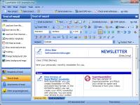 Newsletter Software SuperMailer 5.66 screenshot. Click to enlarge!