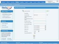 NolaPro Free Accounting 5.0 screenshot. Click to enlarge!