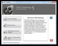 O&O DiskImage Professional Edition 5.6.18 screenshot. Click to enlarge!
