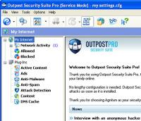 Outpost Security Suite Pro 8.1.4303.670.1908 screenshot. Click to enlarge!