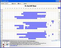 PC On/Off Time tracking 2.0 screenshot. Click to enlarge!
