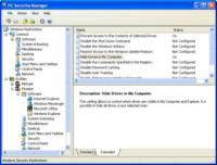 PC Security Manager 1.4 screenshot. Click to enlarge!