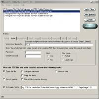 PDF Builder 3.1.4 screenshot. Click to enlarge!