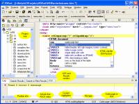 PSPad editor 4.5.4.2356 screenshot. Click to enlarge!