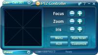 PTZ Controller 3.7.1047 screenshot. Click to enlarge!